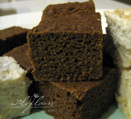 Gluten Free Banana Cake with Teff Flour for Easter