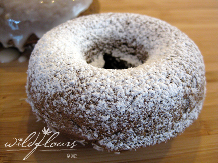 Gluten Free Teff Buttermilk Donuts for New Years