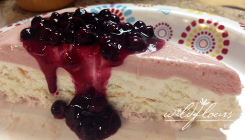 Red White & Blue Ice Cream Cake… Happy 4th of July!