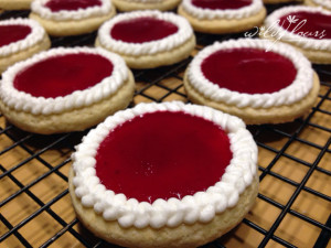GF Cheesecake Cranberry Jewel Cookies
